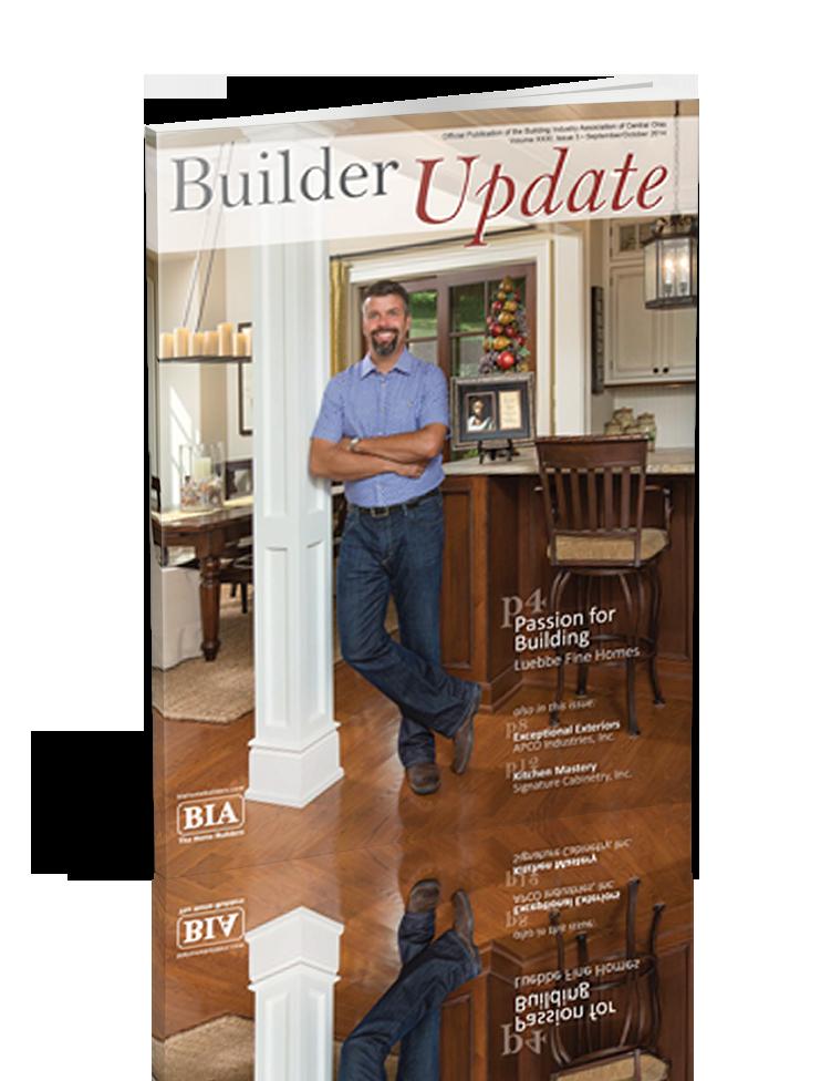 Luebbe Builder Update Magazine 2014